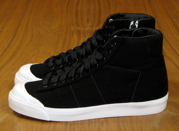 wholesale dealer a520e 7d75a ... best price 452210 411 nike blazer mid ab canvas tz. black white white.  452210