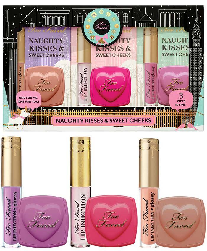 Too Faced Naughty Kisses & Sweet Cheeks ($36.00) (Limited Edition)