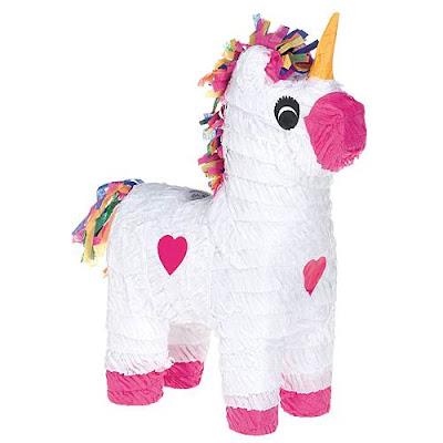 Nella the Princess Knight party supplies-unicorn pinata