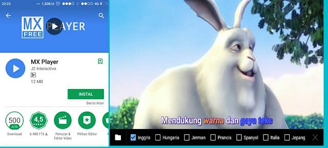 Cara memutar film file Mkv, flv di hp android (Tanpa Aplikasi)