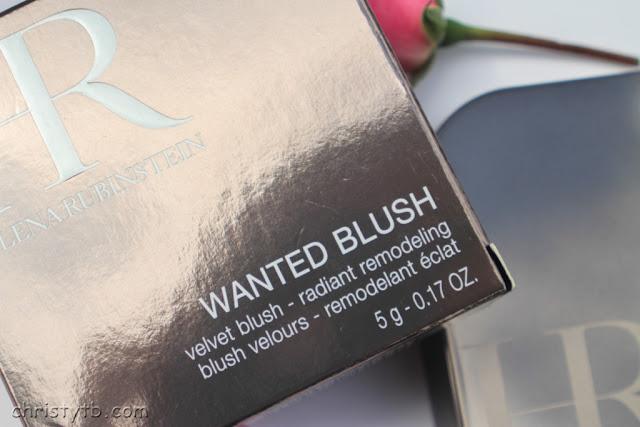 "Румяна Helena Rubinstein Wanted Blush velvet blush radiant remodeling #01 ""Glowing Peach"""