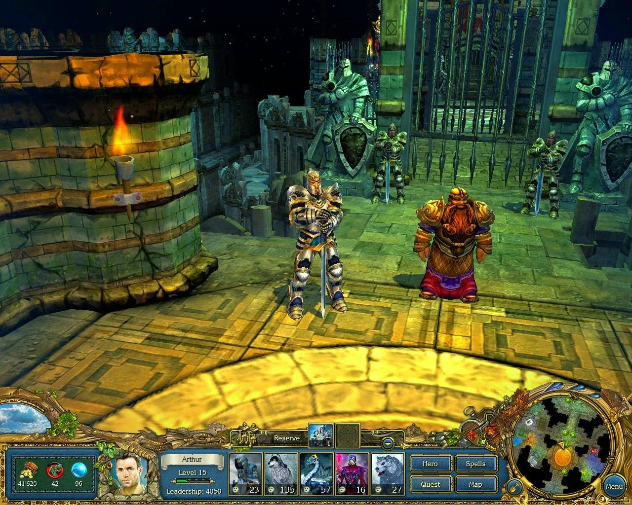 Kings Bounty Crossworlds PC-GAME