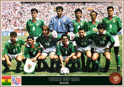 Resultado de imagem para seleçao da bolivia 1977