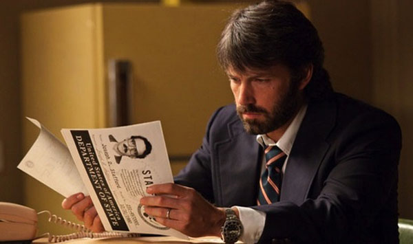 Argo, directed by Ben Affleck