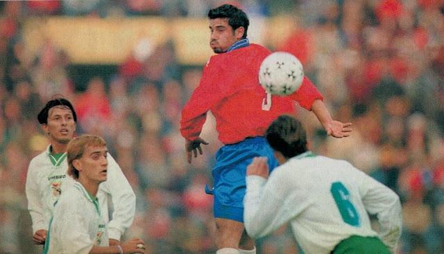 Chile y Bolivia en partido amistoso, 20 de junio de 1999