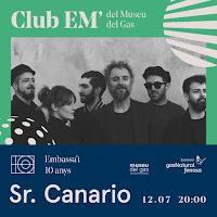 Concierto de Sr. Canario en el Festival Embassa't de Sabadell