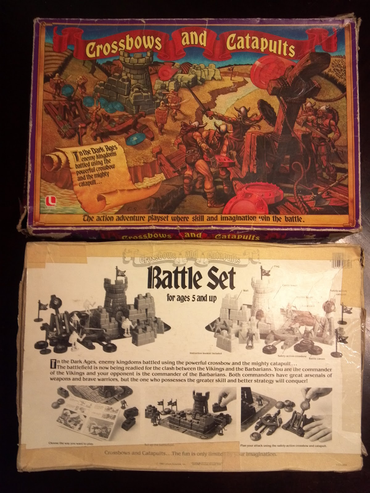 Crossbows and Catapults   A Board Game A Day