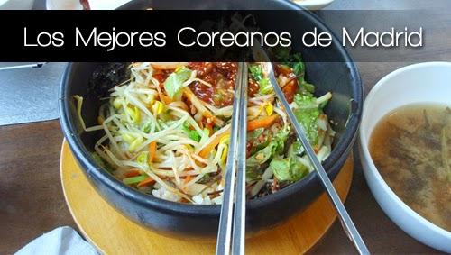 Mejores restaurantes coreanos en Madrid