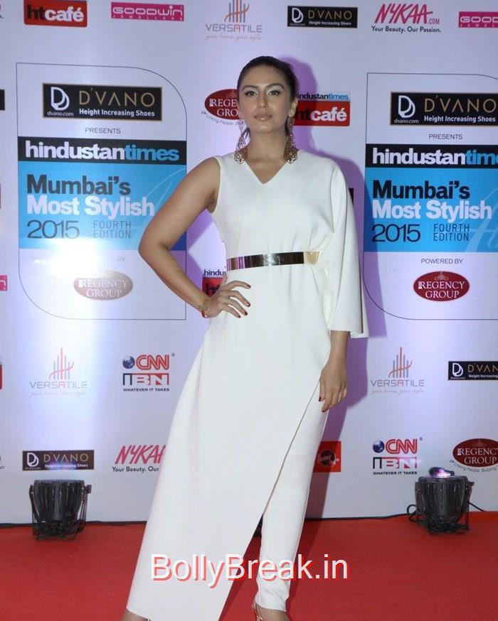 Huma Qureshi, Mumbai's Most Stylish Awards 2015 Full Photo Gallery