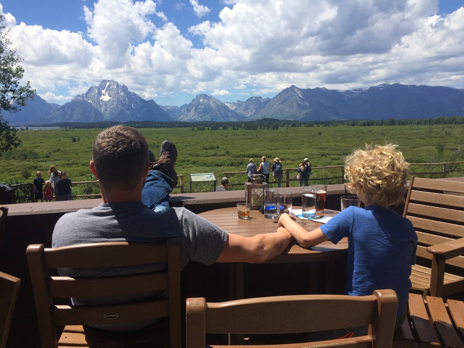 Life these days for The deck jackson hole