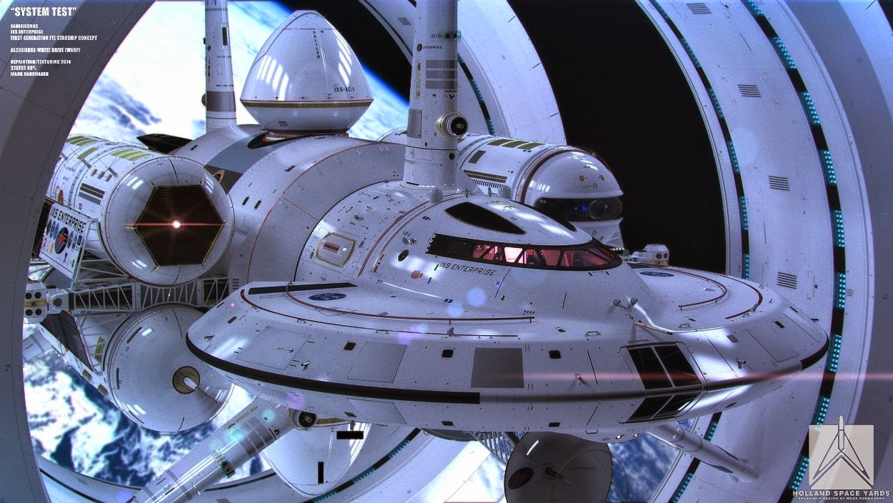 NASA Interstellar Warp Drive Ship