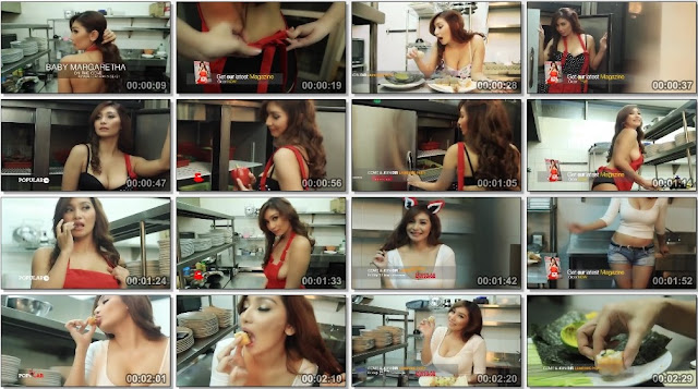 Video BTS Baby Margaretha - Popular Magazine - Model Majalah Pria Dewasa