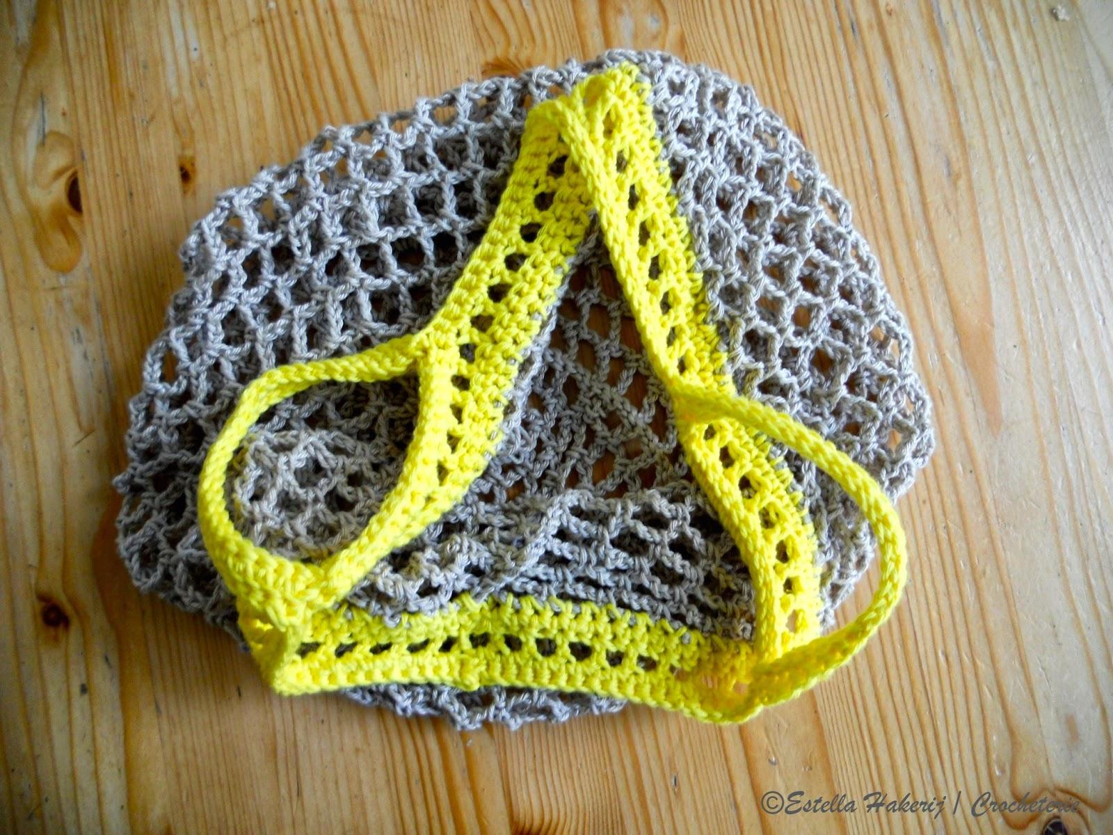 Hakerij Crocheterie Nog Een Boodschappennet Another Grocery Bag