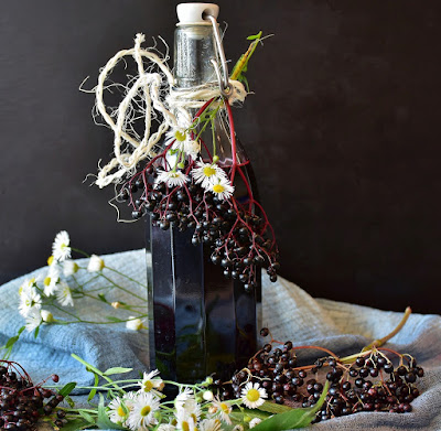 Marie's Elderberry Cordial Recipe