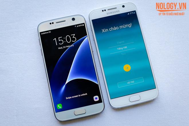 Samsung Galaxy S7 với thiết kế sang trọng