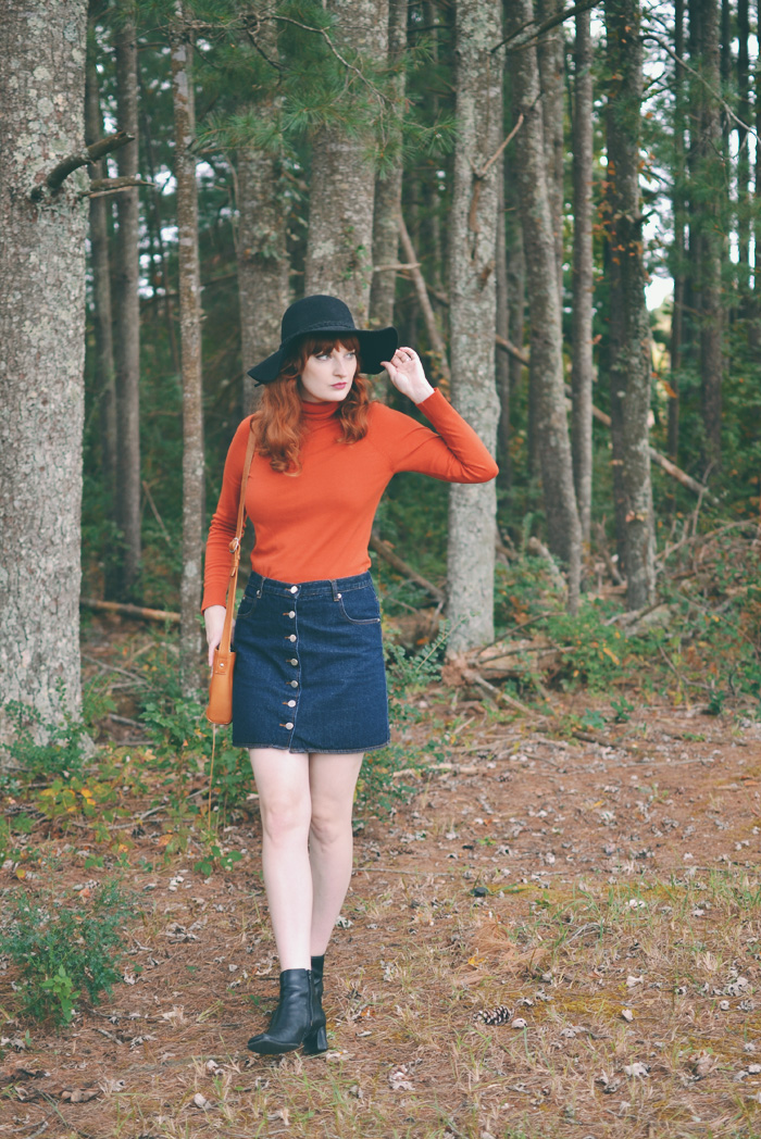 The Flying Clubhouse: Pumpkin Spice My Wardrobe #turtleneck