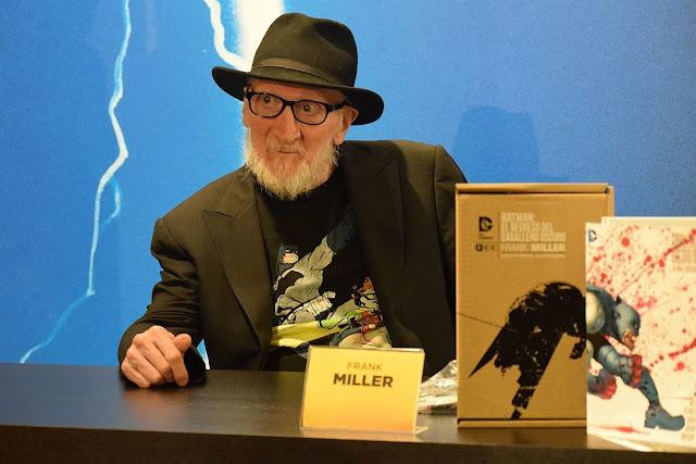 Biografi Frank Miller, Kreator The Dark Knight Returns