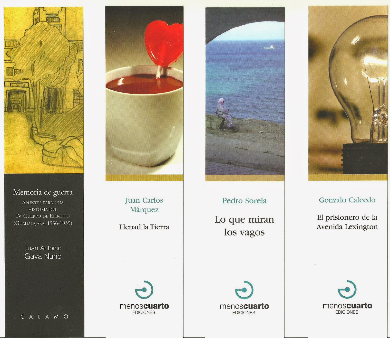 els punts de llibre: EDITORIAL MENOS CUARTO 2015