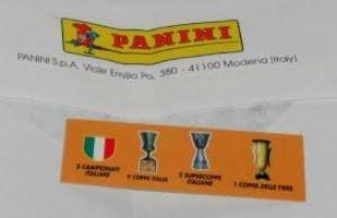Calciatori panini 2009/10 figurina