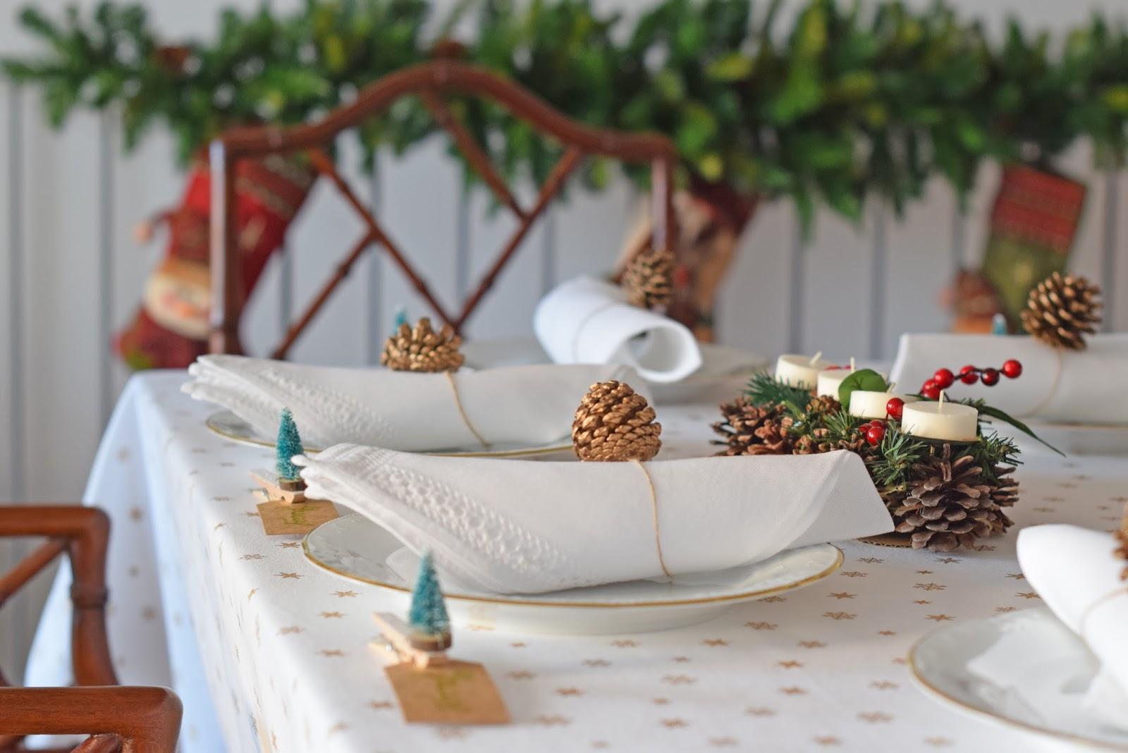 Ale samaniego thanksgiving 2017 ideas para decorar una mesa de navidad - Decorar una mesa de navidad ...