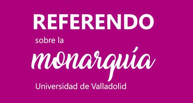 Resultados del referéndum en la Universidad de Valladolid: gana la República