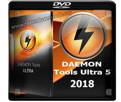 DAEMON Tools Ultra 5 2018 Crack e Serial