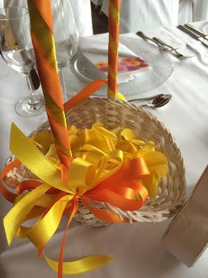 Basket for flower girl, Texas wedding in Germany, Bavaria, Garmisch-Partenkirchen, Riessersee Hotel, wedding destination location, wedding planner Uschi Glas, alps and lake-side wedding