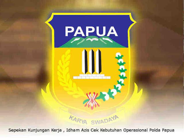 Sepekan Kunjungan Kerja di Papua, Idham Azis Cek Kebutuhan Operasional Polda Papua