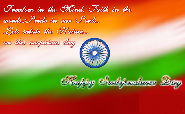 Independence Day wishes for India