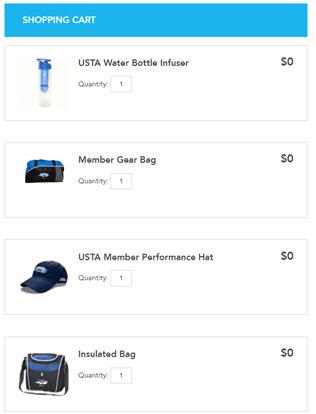 USTA membership promo free gifts