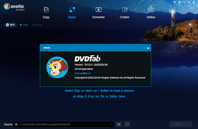 Screenshot DVDFab 10.0.8.4 Full Version