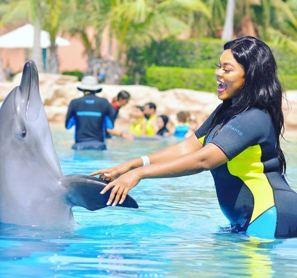 Photos: Daniella Okeke Is BACK To Dubai For Vacation