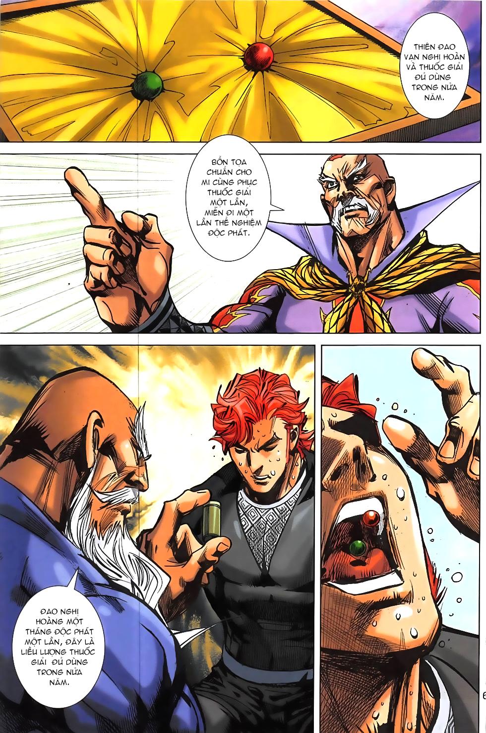 Hoàng Giả Chi Lộ chap 12.2 Trang 33 - Mangak.info