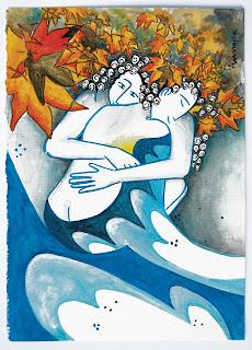 https://www.latelierdannapia.com/ Annapia Sogliani artiste peintre pittrice painter artist Scuola Internazionale di illustrazione di Sarmede