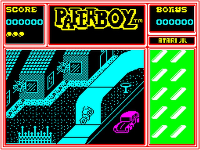 Indie Retro News: ZX Spectrum Retro Review - Paperboy