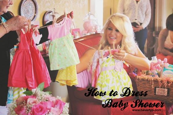 Cómo Vestir Según El Tipo De Baby Shower Beverly