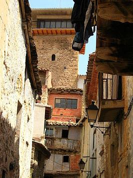 torreta, torre, Fuentespalda