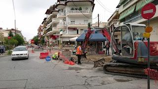 Δήμος Κατερίνης: Σε εξέλιξη οι παρεμβάσεις στην οδό Αγίας Παρασκευής, για την ολοκλήρωση του 2ου δακτυλίου της πόλης