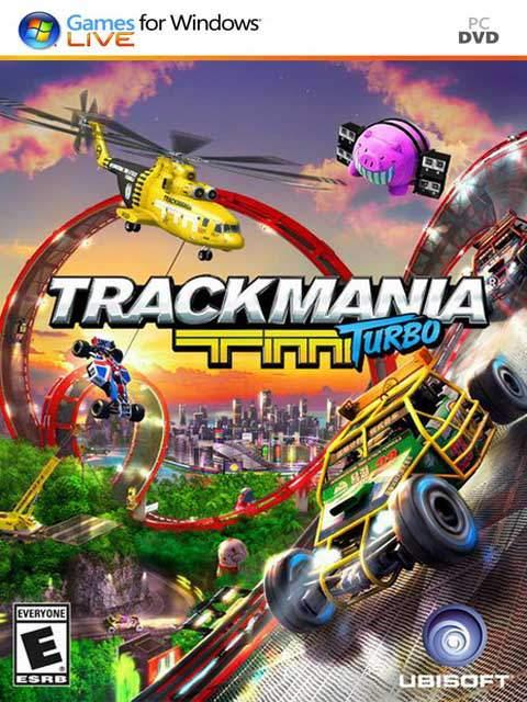 تحميل لعبة Trackmania Turbo مضغوطة برابط واحد مباشر + تورنت كاملة مجانا