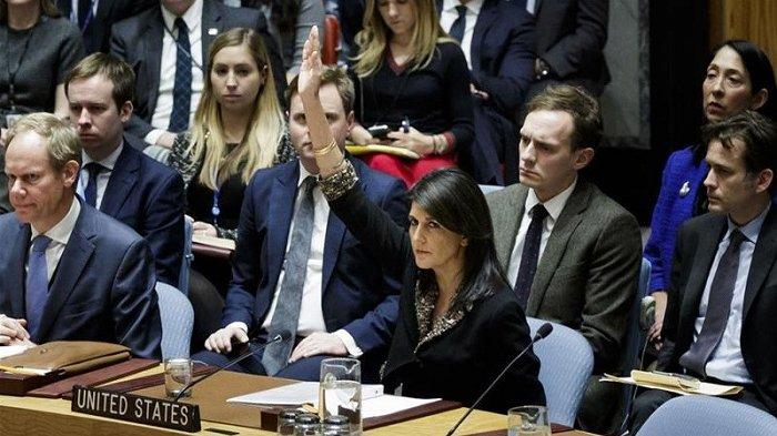 Marah Dunia Menentang Trump, Soal Yerusalem Duta Besar AS Kirim Surat Ancaman Ini Pada PBB, Isinya....