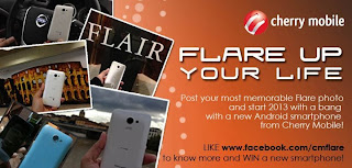 "Cherry Mobile Flare ""Flare Up Your Life"" Photo Contest"