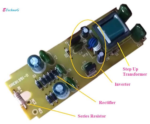Electronic Ballast, Electronic Ballast working principle