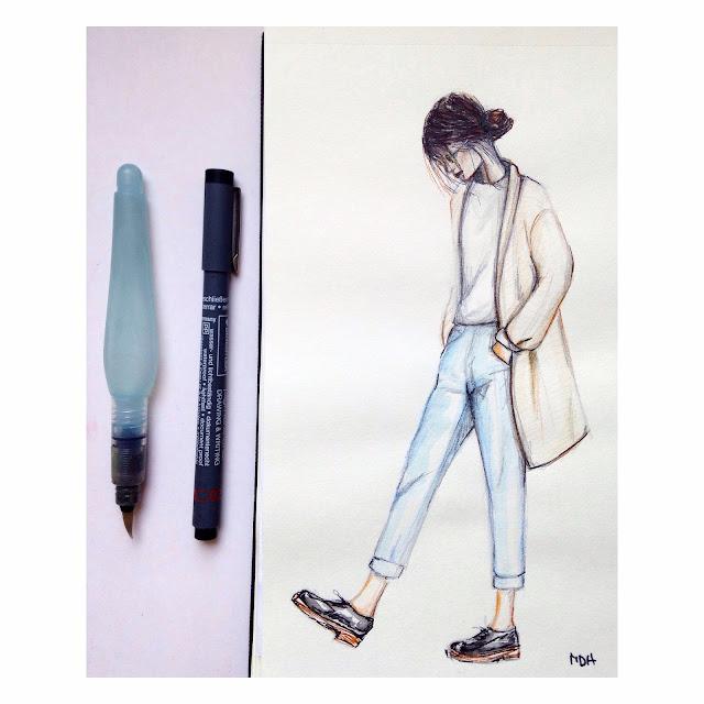 sketch-girl-look