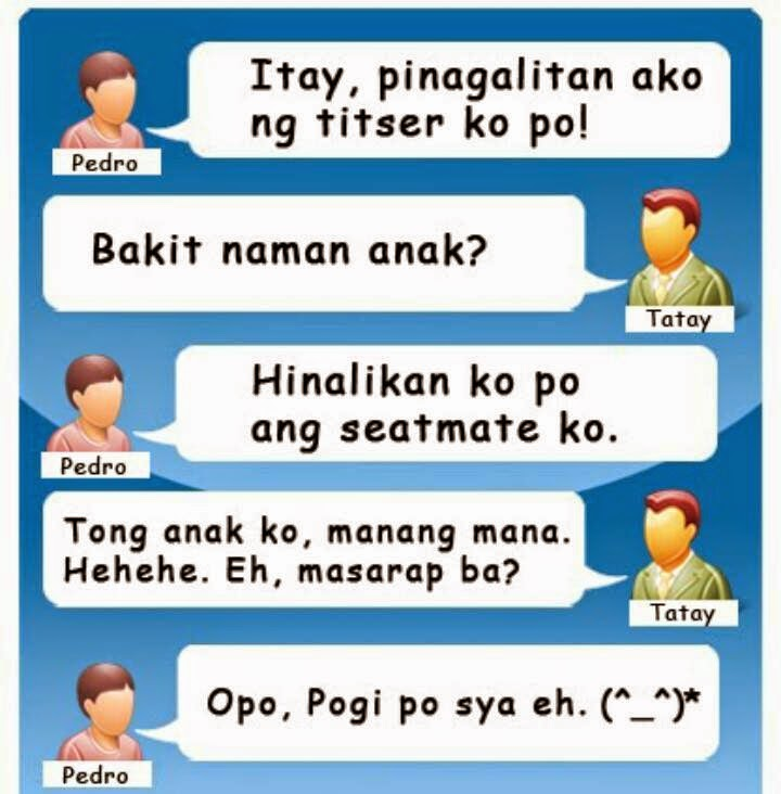 Comedy Quotes Tagalog Version: Daily Pinoy Jokes: Funny Hugot Lines Collection