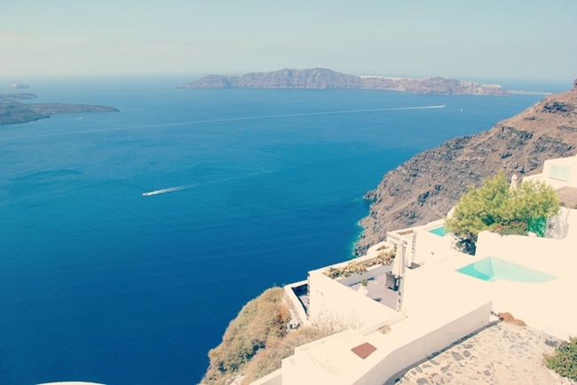 Santorini hotels with best sea view