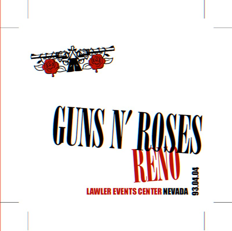 HEAVY-ROCK BOOTLEGS: Guns N' Roses:1993-04-04-Lawlor Events