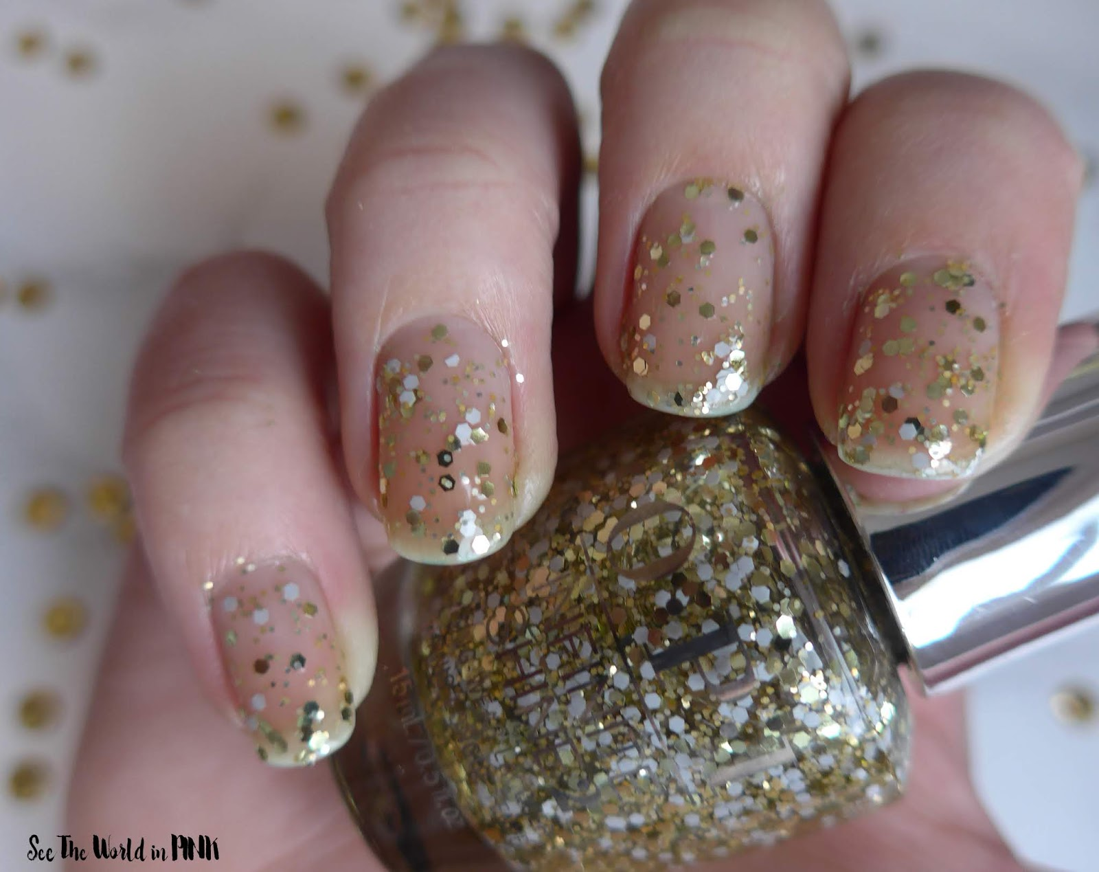 OPI The Nutcracker and the Four Realms Collection ~ Gold Key To The Kingdom