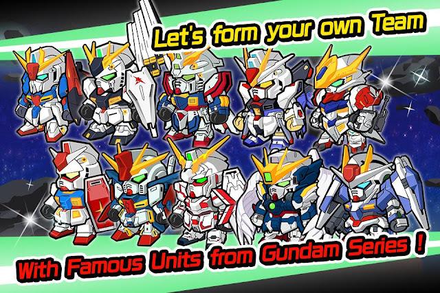 Line Gundam Wars Screenshot 03
