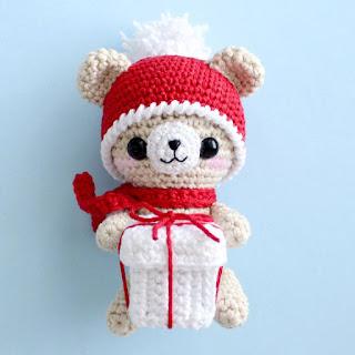 Bloglovin Amigurumi : Christmas Teddy Bear Free Amigurumi Patterns Bloglovin