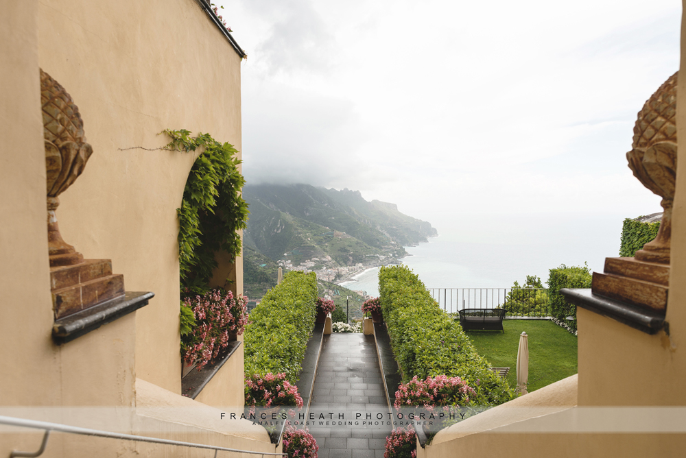 View of Caruso hotel Ravello
